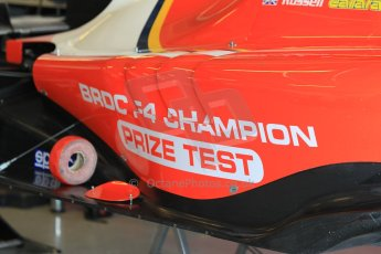 World © Octane Photographic Ltd. Thursday 27th November 2014. GP3 Testing - Yas Marina, United Arab Emirates. George Russell - Arden International – BRDC F4 Championship prize test. Digital Ref :