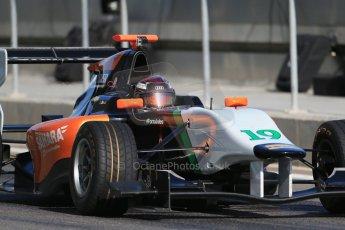 World © Octane Photographic Ltd. Thursday 27th November 2014. GP3 Testing - Yas Marina, United Arab Emirates. Christopher Mies - Hilmer Motorsport. Digital Ref : 1176LB1D9275