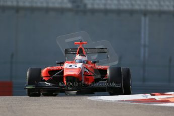 World © Octane Photographic Ltd. Thursday 27th November 2014. GP3 Testing - Yas Marina, United Arab Emirates. Patrick Kujala - Arden International. Digital Ref :