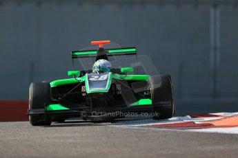 World © Octane Photographic Ltd. Thursday 27th November 2014. GP3 Testing - Yas Marina, United Arab Emirates. Alfonso Celis. Jr - Status Grand Prix. Digital Ref :