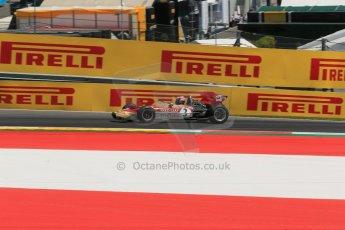 World © Octane Photographic Ltd. Sunday 22nd June 2014. Red Bull Ring, Spielberg – Austria - Formula 1 Legends. Gerhard Berger - Lotus 49. Digital Ref: 1003LB1D4533