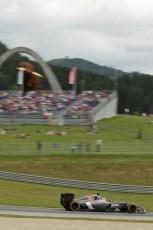 World © Octane Photographic Ltd. Saturday 21st June 2014. Red Bull Ring, Spielberg - Austria - Formula 1 Practice 3. Sauber C33 – Adrian Sutil. Digital Ref: 0995LB1D1301