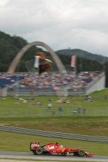 World © Octane Photographic Ltd. Saturday 21st June 2014. Red Bull Ring, Spielberg - Austria - Formula 1 Practice 3. Scuderia Ferrari F14T – Kimi Raikkonen. Digital Ref: 0995LB1D1320