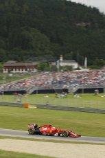 World © Octane Photographic Ltd. Saturday 21st June 2014. Red Bull Ring, Spielberg - Austria - Formula 1 Practice 3. Scuderia Ferrari F14T – Kimi Raikkonen. Digital Ref: 0995LB1D1381