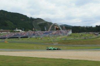 World © Octane Photographic Ltd. Saturday 21st June 2014. Red Bull Ring, Spielberg - Austria - Formula 1 Practice 3. Caterham F1 Team CT05 – Marcus Ericsson. Digital Ref: 0995LB1DX1989