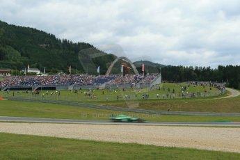 World © Octane Photographic Ltd. Saturday 21st June 2014. Red Bull Ring, Spielberg - Austria - Formula 1 Practice 3. Caterham F1 Team CT05 – Kamui Kobayashi. Digital Ref: 0995LB1DX2033