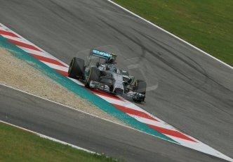 World © Octane Photographic Ltd. Saturday 21st June 2014. Red Bull Ring, Spielberg - Austria - Formula 1 Practice 3. Mercedes AMG Petronas F1 W05 Hybrid - Nico Rosberg. Digital Ref: 0995LB1DX2225
