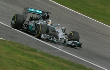 World © Octane Photographic Ltd. Saturday 21st June 2014. Red Bull Ring, Spielberg - Austria - Formula 1 Practice 3. Mercedes AMG Petronas F1 W05 Hybrid – Lewis Hamilton. Digital Ref: 0995LB1DX2233