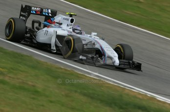 World © Octane Photographic Ltd. Saturday 21st June 2014. Red Bull Ring, Spielberg - Austria - Formula 1 Practice 3. Williams Martini Racing FW36 – Valtteri Bottas Digital Ref: 0995LB1DX2241