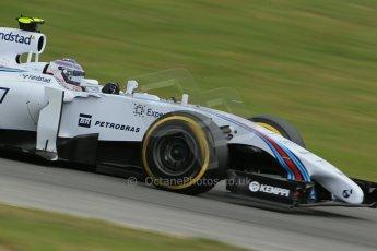 World © Octane Photographic Ltd. Saturday 21st June 2014. Red Bull Ring, Spielberg - Austria - Formula 1 Practice 3. Williams Martini Racing FW36 – Valtteri Bottas Digital Ref: 0995LB1DX2246