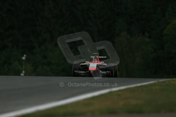 World © Octane Photographic Ltd. Friday 20th June 2014. Red Bull Ring, Spielberg - Austria - Formula 1 Practice 1.  Marussia F1 Team MR03 - Max Chilton. Digital Ref:  0991LB1D0144