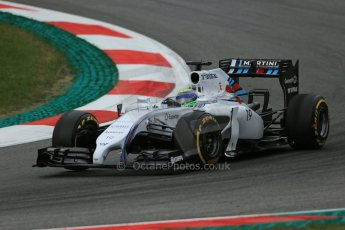 World © Octane Photographic Ltd. Friday 20th June 2014. Red Bull Ring, Spielberg - Austria - Formula 1 Practice 1.  Williams Martini Racing FW36 – Valtteri Bottas Digital Ref: 0991LB1D0392