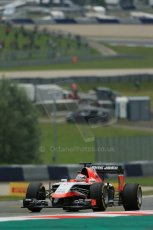 orld © Octane Photographic Ltd. Friday 20th June 2014. Red Bull Ring, Spielberg - Austria - Formula 1 Practice 1.  Marussia F1 Team MR03 - Jules Bianchi. Digital Ref: 0991LB1D9525