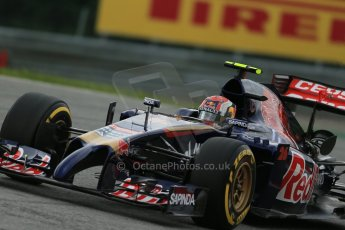 World © Octane Photographic Ltd. Friday 20th June 2014. Red Bull Ring, Spielberg - Austria - Formula 1 Practice 1.  Scuderia Toro Rosso STR 9 – Daniil Kvyat. Digital Ref: 0991LB1D9868