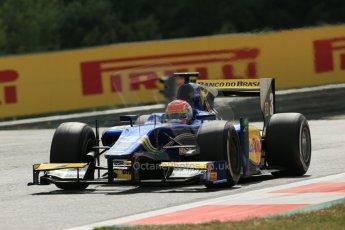 World © Octane Photographic Ltd. Saturday 21st June 2014. GP2 Race 1 – Red Bull Ring, Spielberg - Austria. Felipe Nasr - Carlin. Digital Ref : 0997LB1D3228