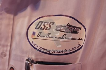 World © Octane Photographic Ltd. Autosport International Show NEC Birmingham, Thursday 9th January 2014. OSS logo. Digital ref: 0878cj7d0044