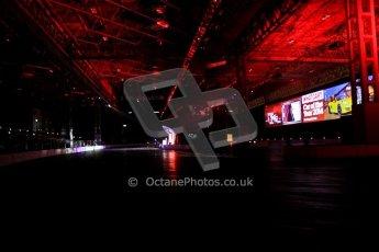 World © Octane Photographic Ltd. Autosport International Show NEC Birmingham, Thursday 9th January 2014. Live arena. Digital ref: 0878cj7d0114