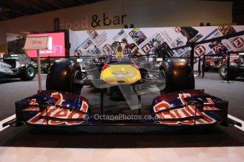 World © Octane Photographic Ltd. Autosport International Show NEC Birmingham, Thursday 9th January 2014. Red Bull F1 car. Digital ref: 0878lb1d8738