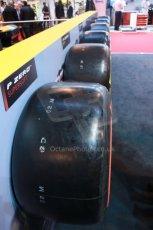World © Octane Photographic Ltd. Autosport International Show NEC Birmingham, Thursday 9th January 2014. Pirelli tires. Digital ref: 0878lb1d8773