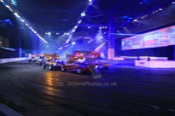 World © Octane Photographic Ltd. Autosport International Show NEC Birmingham, Thursday 9th January 2014. Live Arena. Digital ref: 0878lb1d9145