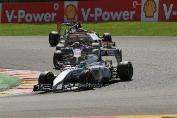 World © Octane Photographic Ltd. Sunday 24th August 2014, Belgian GP, Spa-Francorchamps. - Formula 1 Race. Williams Martini Racing FW36 – Felipe Massa. Digital Ref: 1090LB1D2009