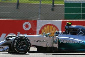 World © Octane Photographic Ltd. Sunday 24th August 2014, Belgian GP, Spa-Francorchamps. - Formula 1 Race. Mercedes AMG Petronas F1 W05 Hybrid - Nico Rosberg. Digital Ref: 1090LB1D2153