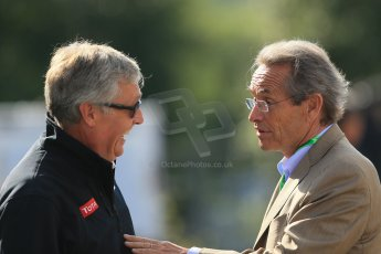 World © Octane Photographic Ltd. Sunday 24th August 2014, Belgian GP, Spa-Francorchamps. - Formula 1 Paddock. Total Fuel. Digital Ref: 1088LB1D1478