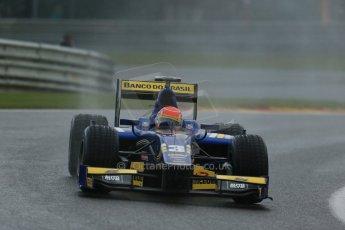 World © Octane Photographic Ltd. Friday Saturday 23rd August 2014. GP2 Race 1 – Belgian GP, Spa-Francorchamps. Felipe Nasr - Carlin. Digital Ref : 1086LB1D0392