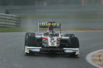 World © Octane Photographic Ltd. Friday Saturday 23rd August 2014. GP2 Race 1 – Belgian GP, Spa-Francorchamps. Adrian Quaife-Hobbs - Rapax. Digital Ref : 1086LB1D0680