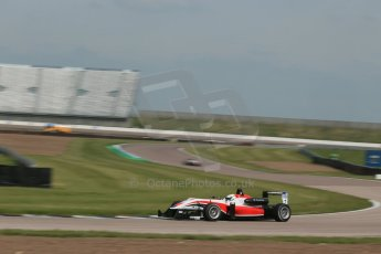 World © Octane Photographic Ltd. Cooper Tyres British Formula 3 (F3). Rockingham - Qualifying, Sunday 4th May 2014. Dallara F312 Mercedes HWA – Matt Rao - Fortec Motorsports. Digital Ref : 0920lb1d1537