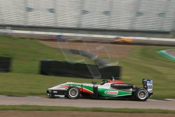 World © Octane Photographic Ltd. Cooper Tyres British Formula 3 (F3). Rockingham - Qualifying, Sunday 4th May 2014. Dallara F312 Mercedes HWA – Sam Macleod - Fortec Motorsports. Digital Ref : 0920lb1d1584