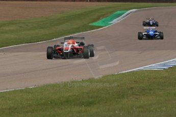"World © Octane Photographic Ltd. Cooper Tyres British Formula 3 (F3). Rockingham - Qualifying, Sunday 4th May 2014. Dallara F312 Mercedes HWA - Hong Wei ""Martin"" Cao - Fortec Motorsports. Digital Ref :"