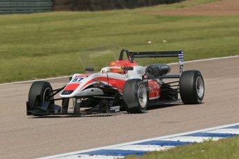 "World © Octane Photographic Ltd. Cooper Tyres British Formula 3 (F3). Rockingham - Qualifying, Sunday 4th May 2014. Dallara F312 Mercedes HWA - Hong Wei ""Martin"" Cao - Fortec Motorsports. Digital Ref : 0920lb1d1728"