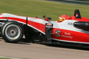 "World © Octane Photographic Ltd. Cooper Tyres British Formula 3 (F3). Rockingham - Qualifying, Sunday 4th May 2014. Dallara F312 Mercedes HWA - Hong Wei ""Martin"" Cao - Fortec Motorsports. Digital Ref : 0920lb1d1807"