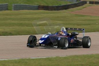 World © Octane Photographic Ltd. Cooper Tyres British Formula 3 (F3). Rockingham - Qualifying, Sunday 4th May 2014. Dallara F310 Volkswagen - Peter Li Zhi Cong - Carlin. Digital Ref : 0920lb1d1858