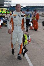 World © Octane Photographic Ltd. Friday 4th July 2014. GP2 Qualifying Session –British GP - Silverstone - UK. Jon Lancaster - Hilmer Motorsport. Digital Ref: 1014JM1D1118