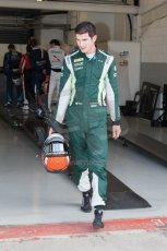 World © Octane Photographic Ltd. Friday 4th July 2014. GP2 Qualifying Session –British GP - Silverstone - UK. Alexander Rossi - EQ8 Caterham Racing. Digital Ref : 1014JM1D1126