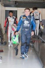 World © Octane Photographic Ltd. Friday 4th July 2014. GP2 Qualifying Session –British GP - Silverstone - UK. Conor Daly - Venezuela GP Lazarus and Takuya Izawa - ART Grand Prix. Digital Ref : 1014JM1D1129