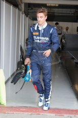 World © Octane Photographic Ltd. Friday 4th July 2014. GP2 Qualifying Session –British GP - Silverstone - UK. Artem Markelov - RT Russian Time. Digital Ref : 1014JM1D1135