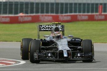 World © Octane Photographic Ltd. Friday 6th June 2014. Canada - Circuit Gilles Villeneuve, Montreal. Formula 1 Practice 2. McLaren Mercedes MP4/29 – Kevin Magnussen. Digital Ref: 0979LB1D3674