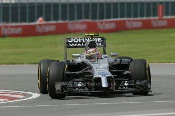 World © Octane Photographic Ltd. Friday 6th June 2014. Canada - Circuit Gilles Villeneuve, Montreal. Formula 1 Practice 2. McLaren Mercedes MP4/29 – Kevin Magnussen. Digital Ref: 0979LB1D3826