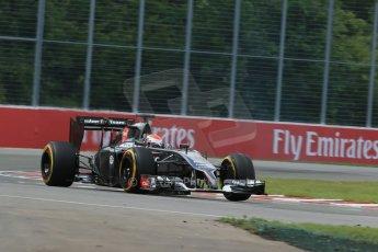 World © Octane Photographic Ltd. Friday 6th June 2014. Canada - Circuit Gilles Villeneuve, Montreal. Formula 1 Practice 2. Sauber C33 – Adrian Sutil. Digital Ref: 0979LB1D4095