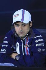 World © Octane Photographic Ltd. Formula 1 Canada – Circuit Gilles Villeneuve, Montreal. Thursday 5th June 2014. Drivers' press conference. Williams Martini Racing – Felipe Massa. Digital Ref : 0977LB1D1340