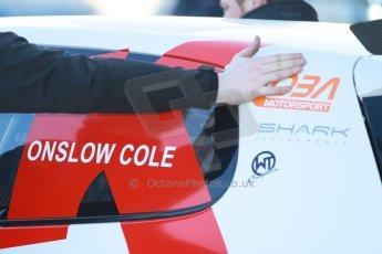 World © Octane Photographic Ltd. Donington Park general unsilenced test day, 13th February 2014. KPM Racing, VW. Digital Ref : 0891cb1d2193