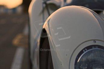 World © Octane Photographic Ltd. Donington Park general unsilenced test day, 13th February 2014. 1958 Lister Knobbly-Chevrolet BHL110 - Roberto Giordanelli. Digital Ref : 0891cb1d2222