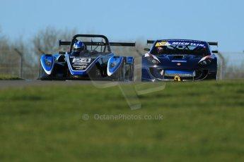 World © Octane Photographic Ltd. Donington Park general unsilenced test day, 13th February 2014. United Autosports Ginetta G55 GT4 - Luke Davenport. Digital Ref : 0891cb1d3884