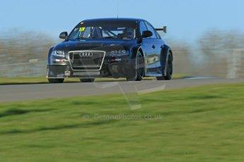 World © Octane Photographic Ltd. Donington Park general unsilenced test day, 13th February 2014. Rob Austin Racing Audi A4 NGTC. Digital Ref : 0891cb1d4035