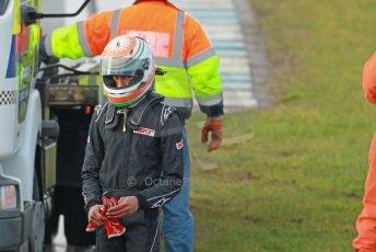 World © Octane Photographic Ltd. 18th February 2014 – Donington Park general unsilenced testing. Protyre Formula Renault BARC -  Tarun Reddy  – MGR Motorsport. Digital Ref : 0892cb1d2999