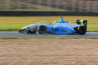 World © Octane Photographic Ltd. 18th February 2014 – Donington Park general unsilenced testing. BRDC Formula 4, MSV F4-13, Charlie Eastwood – Douglas Motorsport. Digital Ref : 0892cb1d4999