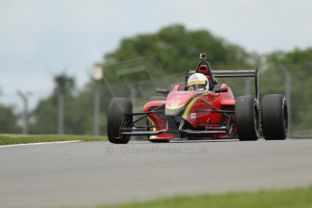 World © Octane Photographic Ltd. 5th June 2014, Donington Park general unsilenced test.  BRDC Formula 4 Championship. MSV F4-013 - Chris Dittmann Racing (CDR) - Chris Dittmann. Digital Ref : 0976CB7D4225